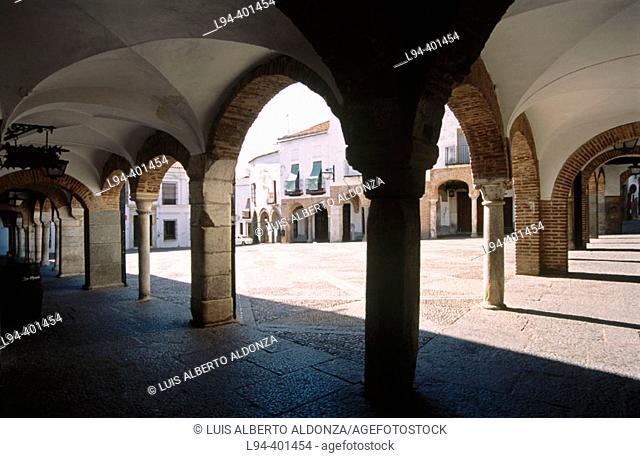 Plaza Chica. Zafra (Badajoz). Extremadura. Spain