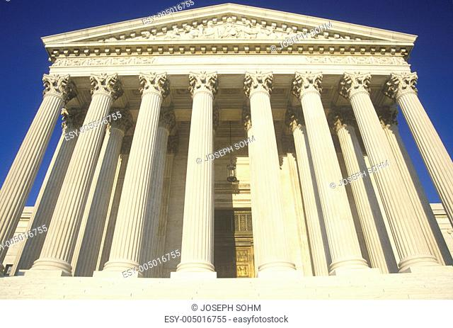 Front of the United States Supreme Court Building, Washington, D.C