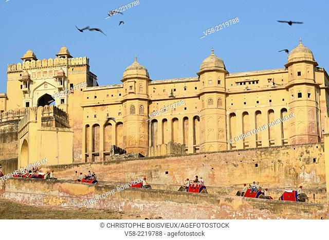 India, Rajasthan, Amber Fort
