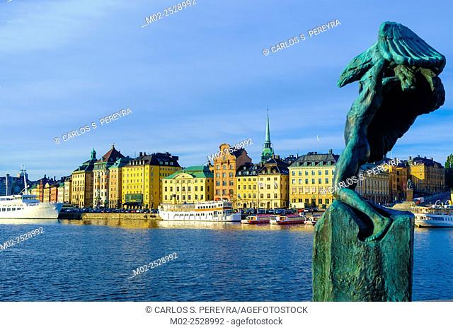 View of Gamla Stan, Stockholm, Sweden