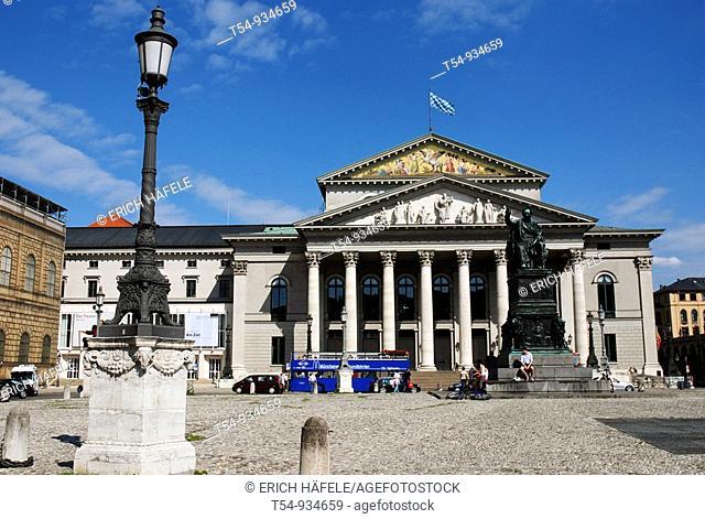 Bavarian Stateopera in Munich