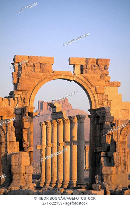 Monumental Arch. Palmira. Syria
