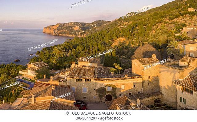 Llucalcari, Deià, comarca de la Sierra de Tramontana, Mallorca, balearic islands, Spain