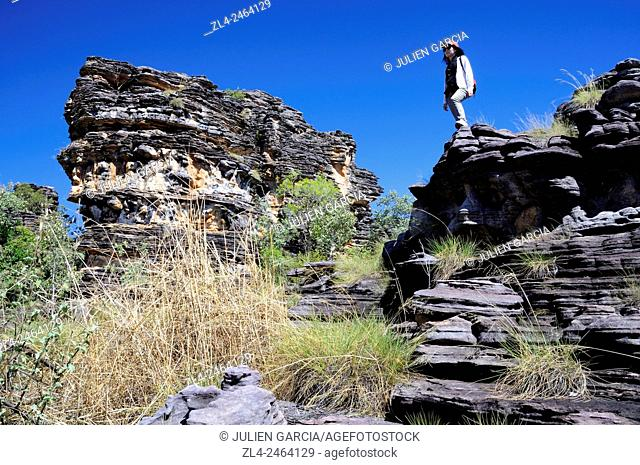 Australia, Northern Territory, Kakadu National Park listed as World Heritage by UNESCO, Bardedjilidji, Model Released