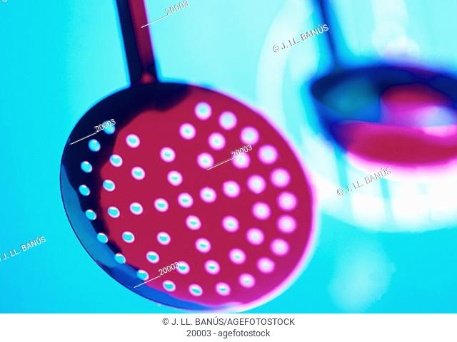 Skimmer and ladle