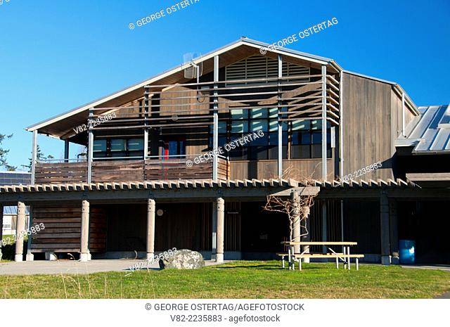 Visitor Center, Padilla Bay National Estuarine Reserve, Washington