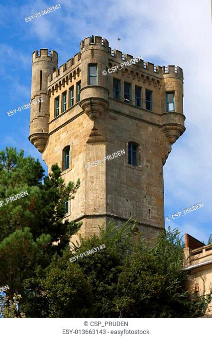 Castle Mount Igueldo, San Sebastian, Spain
