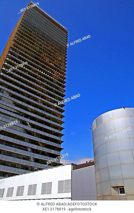 Torre Mapfre, Barcelona, Catalonia, Spain