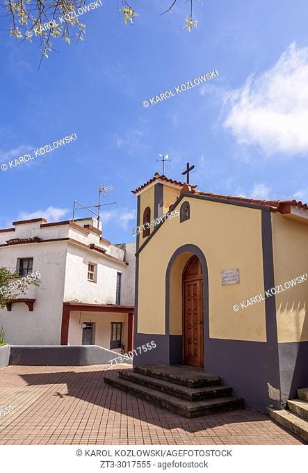 San Isidro Square, Las Carboneras, Anaga, Tenerife Island, Canary Islands, Spain