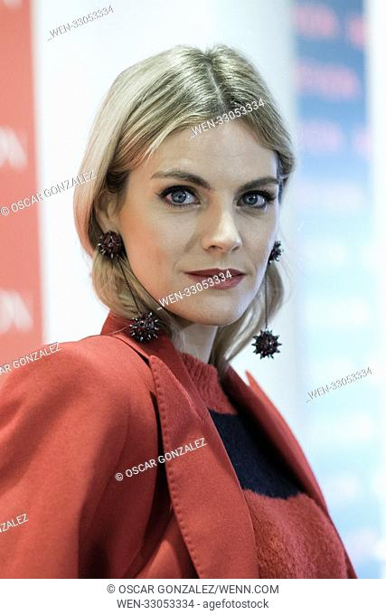 Spanish actress Amaia Salamanca attends Revlon new products presentation at The Little Showroom Featuring: Amaia Salamanca Where: Madrid