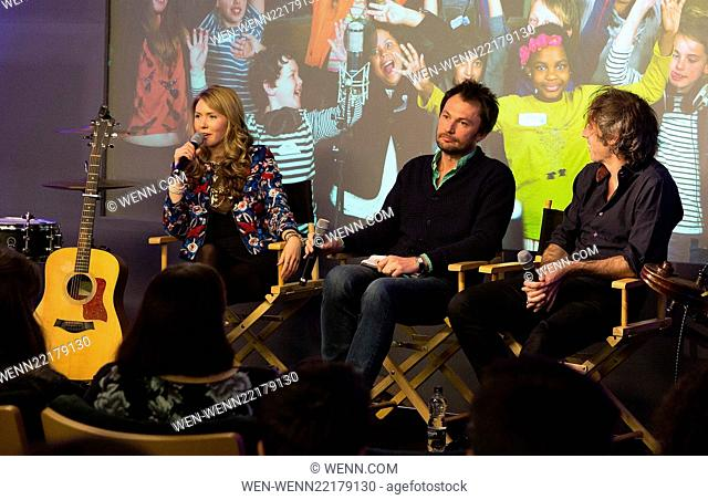 'Kids Wish for the World' charity single performed and created by Beatie Wolfe via PopJam-Michael Acton Smith's breakthrough social media in aid of NSPCC & War...