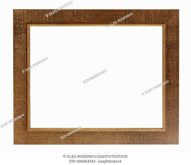 decorative photo frame isolated on white background