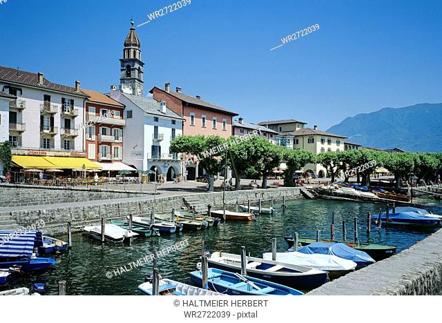 90900043, Switzerland, canton Ticino, Ascona, Piaz