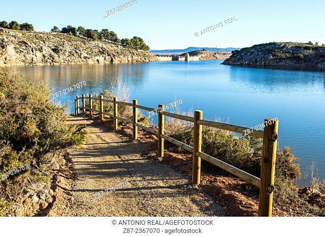 Proyecto Agua Viva, Almansa reservoir, Albacete province, Castilla-La Mancha, Spain