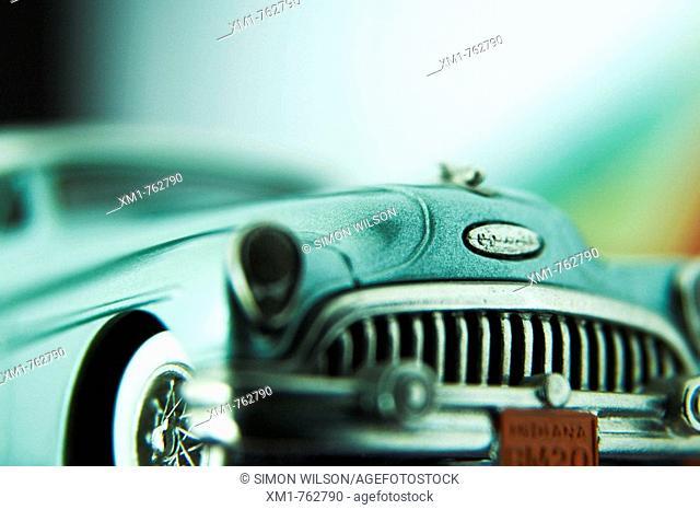 Retro American model car