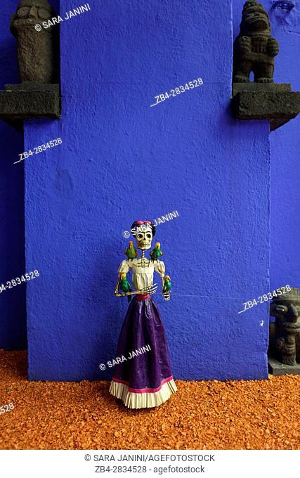 Museo Frida Kahlo (La Casa Azul), Coyoacan, Distrito Federal, Mexico, America