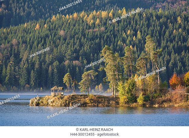 Herbst am Schluchsee, Schwarzwald, Baden-Württemberg, Deutschland
