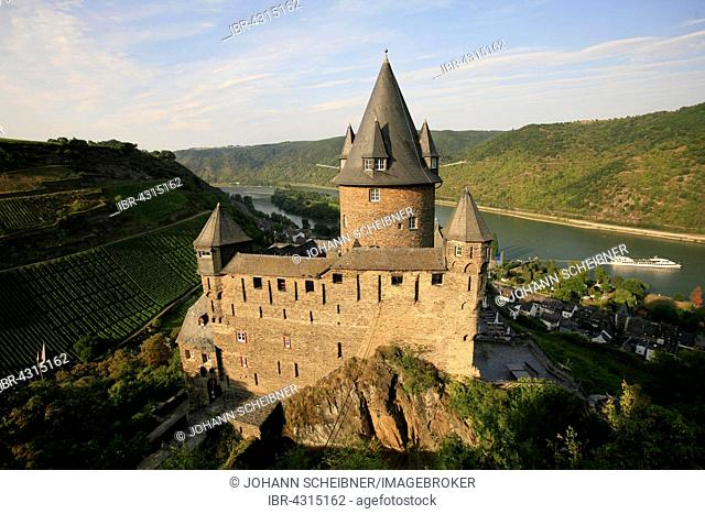 Stahleck Castle, Bacharach, Rhine Gorge, Rhineland-Palatinate, Germany