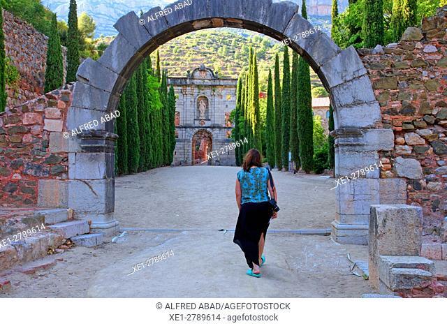 Charterhouse of Escaladei, La Morera de Montsant, Tarragona, Catalonia, Spain