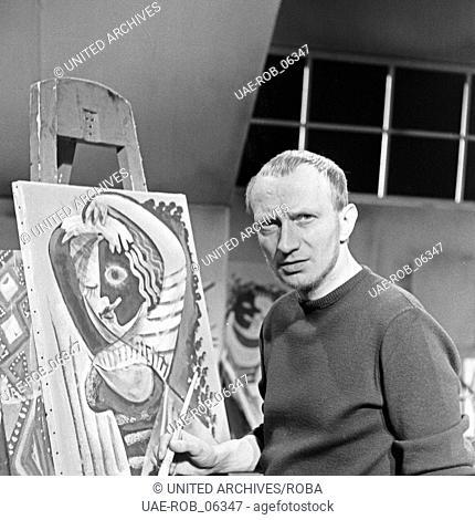 Das Geld, das auf der Straße liegt, Fernsehfilm, Deutschland 1958, Regie: Egon Monk, Darsteller: Balduin Baas