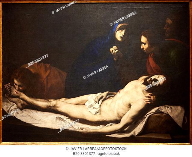 """The Pietá"", 1633, José de Ribera, Thyssen Bornemisza Museum, Madrid, Spain, Europe"