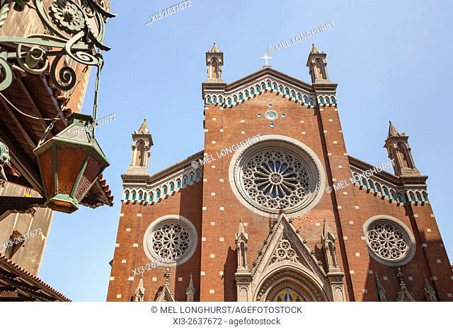 Saint Anthony of Padua Roman Catholic Church, Istiklal Caddesi, Beyoglu, Istanbul, Turkey