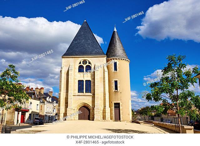 France, Indre (36), Argenton-sur-Creuse, St Etienne district