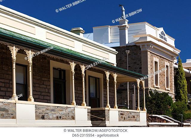 Australia, South Australia, Burra, former copper mining town, town hall