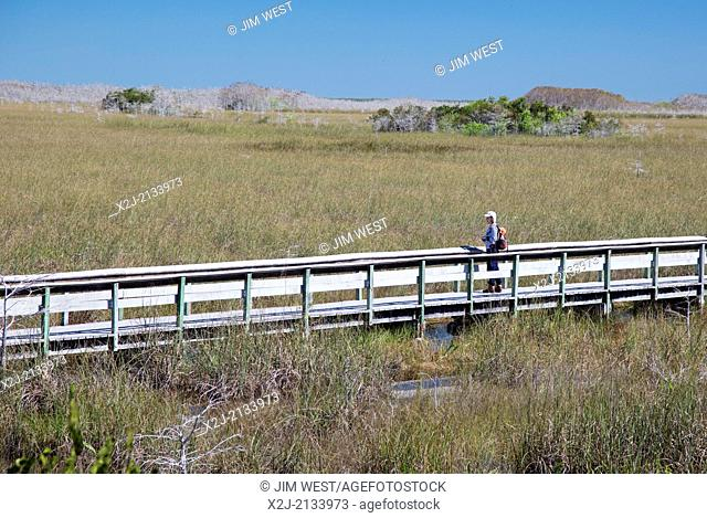 "Everglades National Park, Florida - A boardwalk through the """"river of grass."""""