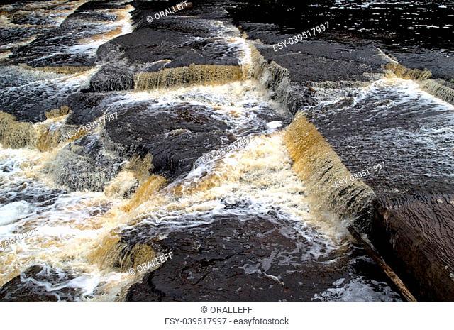 Presque Isle RiverPorcupine Mountains Wilderness State Park, Michigan, USA