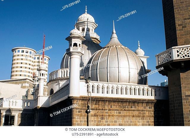 Jamia Mosque with Nation Centre in background, Nairobi CBD, Kenya