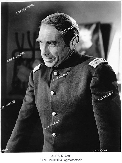 Gary Merrill, on-set of the Film, The Wonderful Country, United Artists, 1958