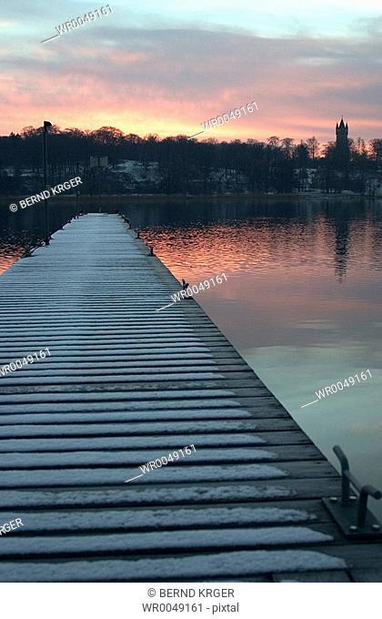 Tiefer lake, Germany