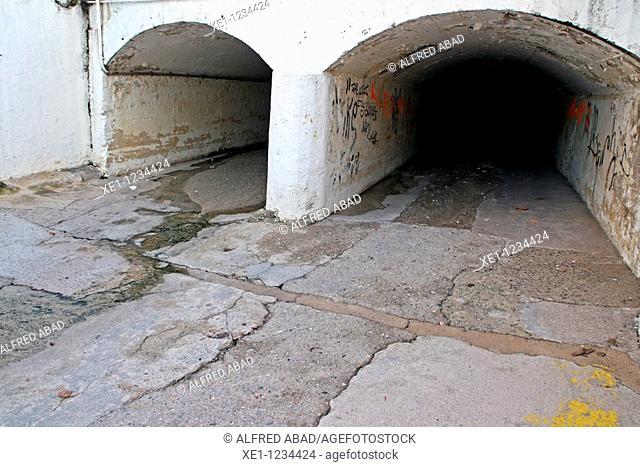 tunnels, Canet de Mat, Catalonia, Spain