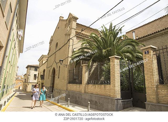 Tauste town Zaragoza Aragon Spain