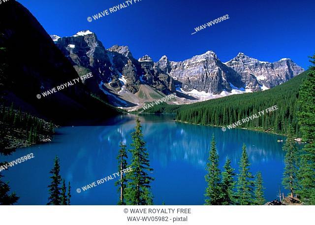 Morraine Lake, Banff National Park, Alberta, Canada