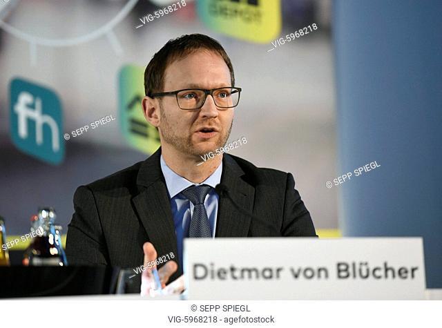 Deutschland, Frankfurt, 30.01.2018 Bilanzpressekonferenz der comdirect bank AG Finanzvorstand Dietmar von Bluecher der comdirect bank AG
