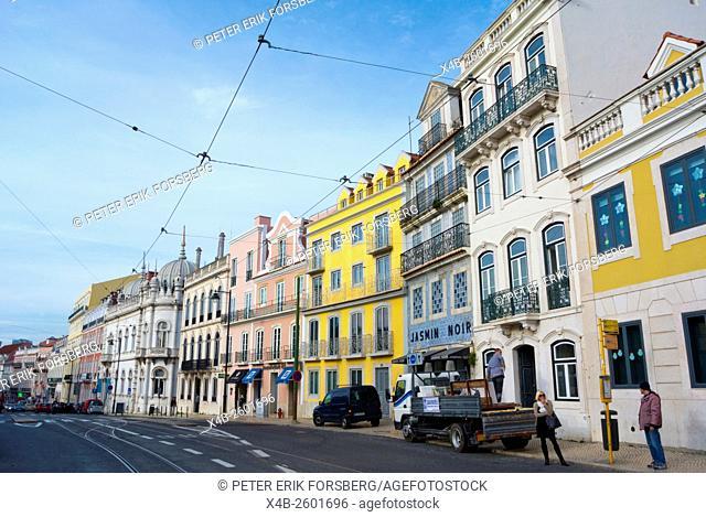 Praça do Principe Real, Sao Bento, Lisbon, Portugal