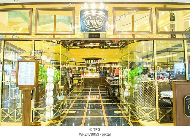 TWG Tea salons and boutiques