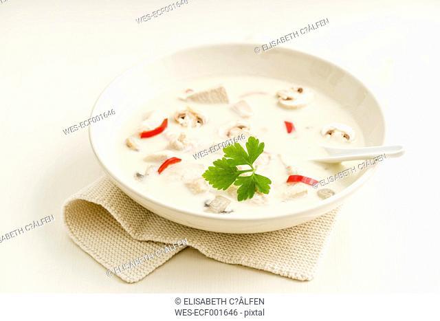 Tom Kha Gai, Asian coconut chicken soup