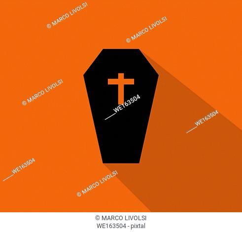 dead coffin icon