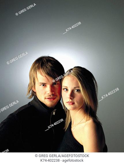 image of young couple