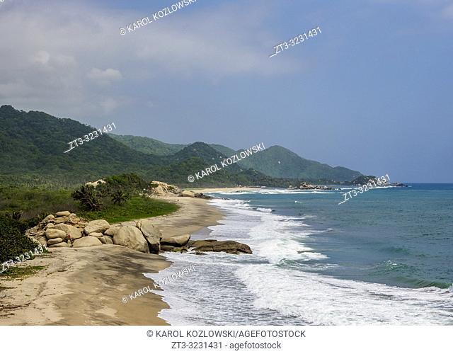 Arrecifes Beach, Tayrona National Natural Park, Magdalena Department, Caribbean, Colombia