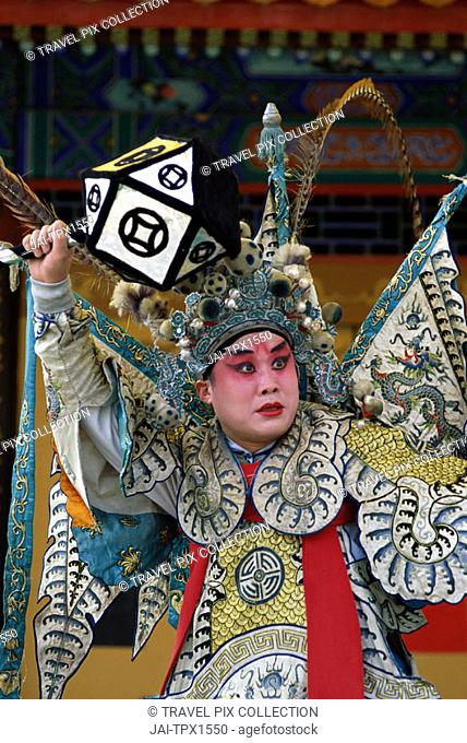 Chinese Opera (Beijing Opera) / Actor Performing, Beijing, China