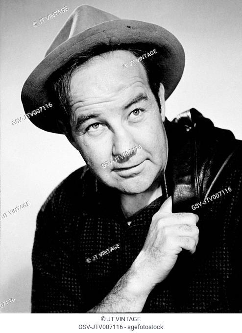 Actor Broderick Crawford, Publicity Portrait, 1949