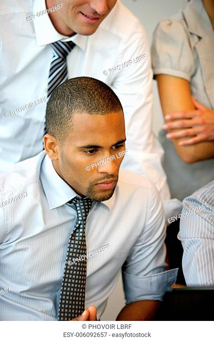 Handsome Metis businessman