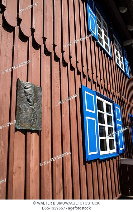 Lithuania, Western Lithuania, Curonian Spit, Nida, Thomas Mann Memorial Museum, house where famous German writer summered between 1930-1932