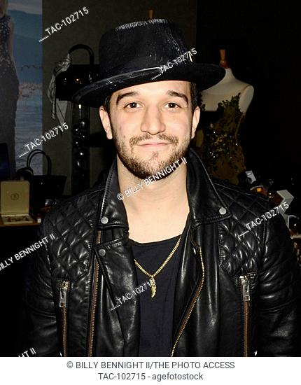 Mark Ballas attends the GBK and Pilot Pen Golden Globes 2016 Luxury Lounge - Day 2 at W Hotel in Hollywood on January 9, 2016 in Hollywood, California