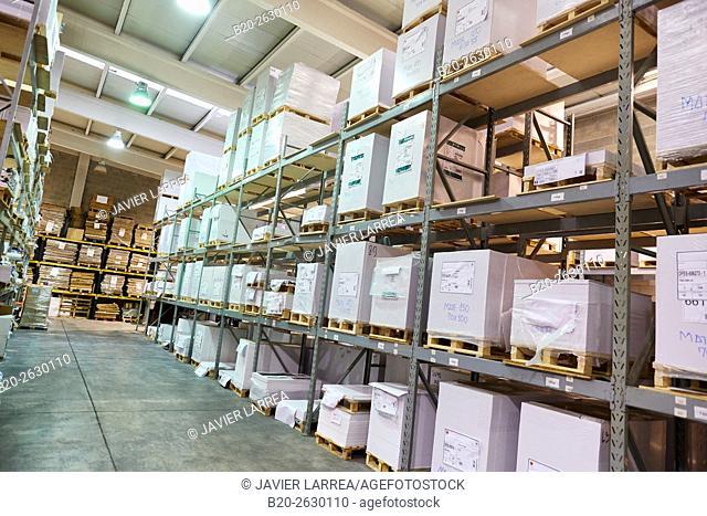 Press printing , Paper Warehouse