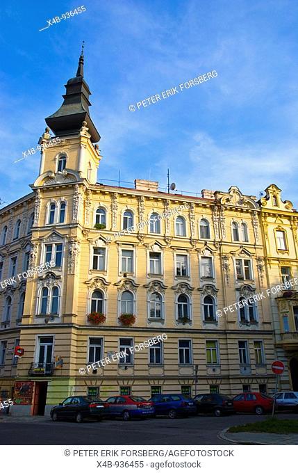 House in central Olomouc Czech Republic Europe